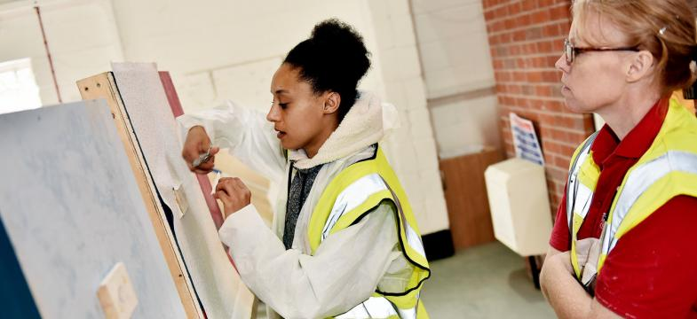 Budding Builders Level 1 Health And Safety With Painting