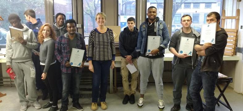 budding builders course completion