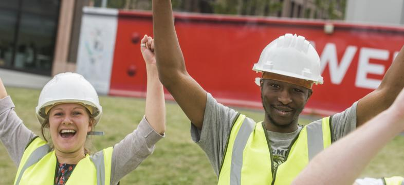 Routes Into Construction apprenticeship success with WJ